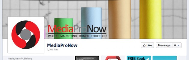 portfolio screenshot social media facebook page for mediapronow in troy, mi