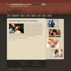 Marriage Hope old website in Rochester